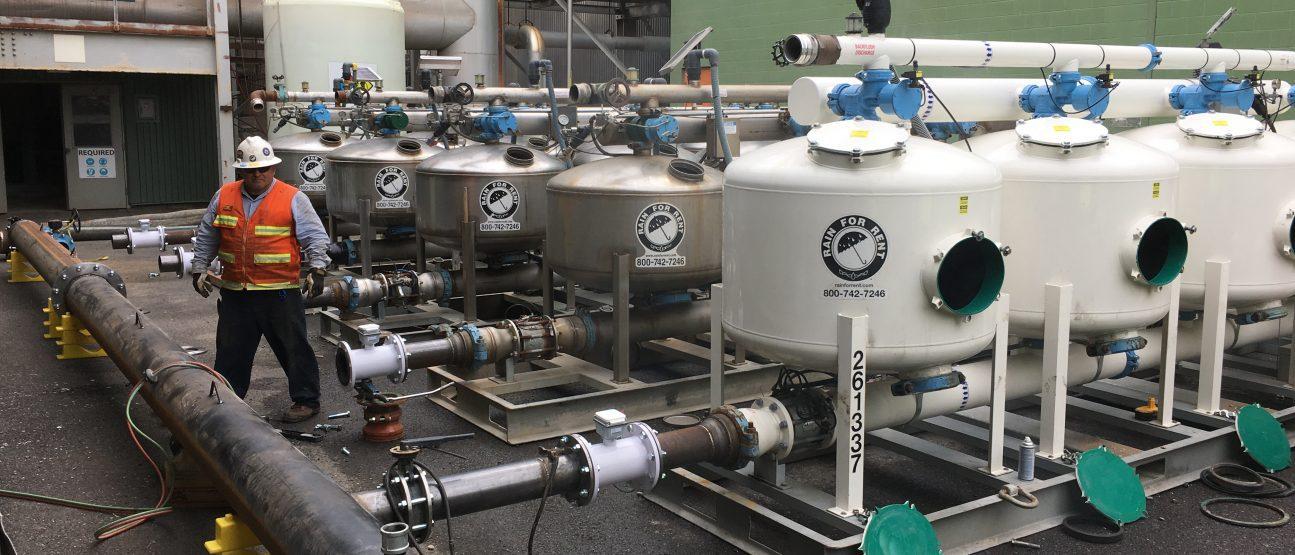 filtration system sand media