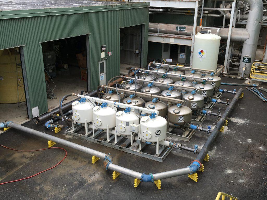 filtration installation