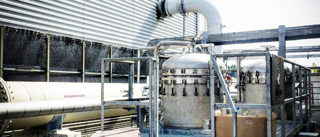Biomass Power Plant required filtration system to lower TSS in cooling tower and keep the plant running.