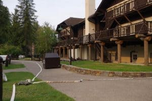 Lake-McDonald-Lodge-Fire-Protection-Rain-for-Rent
