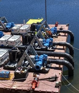 pumps-on-a-barge-rain-for-rent